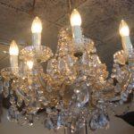 8 lichts kristallen kroonluchter