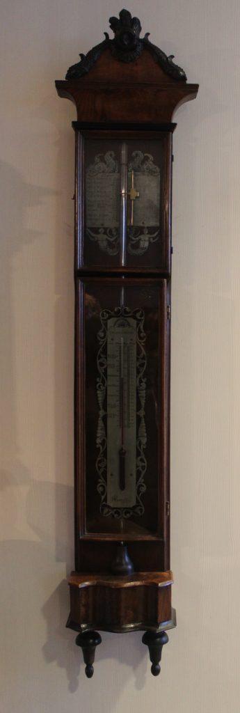Een zg. bakbarometer