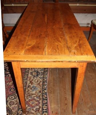 Franse eikenhouten tafel