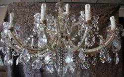 Kristallen kroonluchter 18 lichts