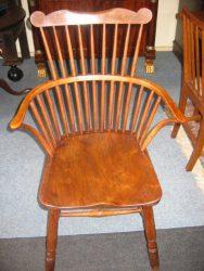 Iepenhouten Windsor stoel