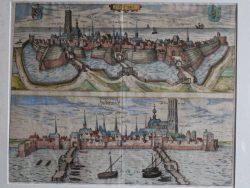 Kaart Harderwijk (Braun en Hoogenberg)
