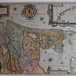 Kaart Hollandia (G. Blaeu)