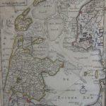 Kaart Zuiderzee (I.Tirion)