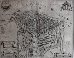 Kaart Medemblik (J. Blaeu)