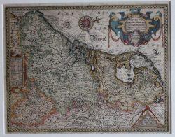 Kaart Novus XVII Inferiors (J. Jansonius)