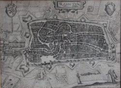 Kaart Utrecht Plantijn