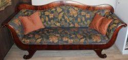 Mahoniehouten vroeg biedermeier sofa – Verkocht