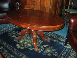 Massief mahoniehouten antieke tafel