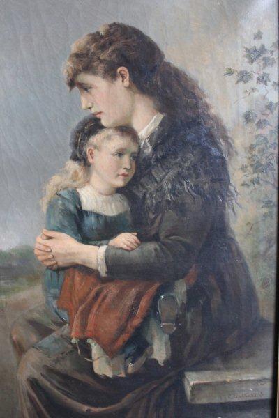 Moeder en kind (J. ten Cate jr.)