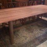 oude kersenhouten tafel