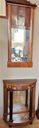 Empire Trumeau met lade en spiegel